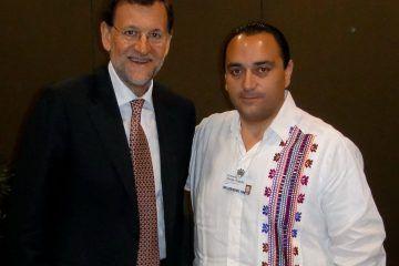Certidumbre A La Inversión Ofrece El Gobernador De Quintana Roo Al Presidente Del Gobierno Español
