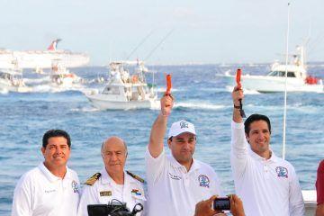 Da El Gobernador Disparo De Salida Al Torneo Rodeo De Lanchas Mexicanas 2012