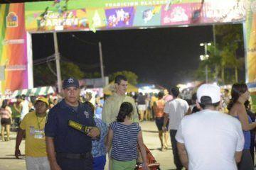 Con éxito y seguridad transcurre la Feria del Carmen 2014