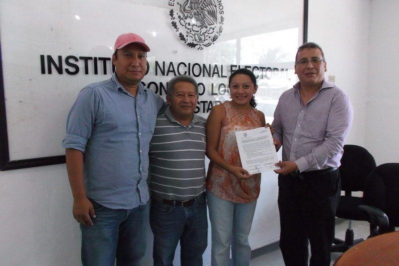 INE recibe solicitudes de registro de candidatos en elección interna del PRD