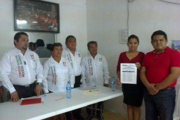 Impone Chepe a dirigente municipal del PRI en Bacalar
