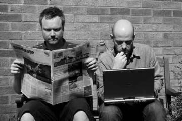 Periodistas de antaño Vs Periodistas de la era digital