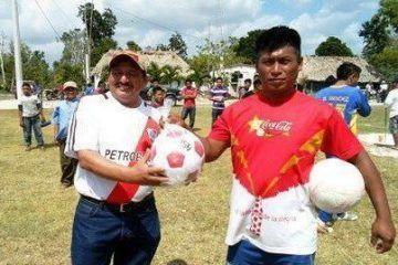Cuadrangular por 40 aniversario en la comunidad Nueva Esperanza