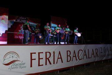 Tamborileros de Tabasco presentes en la Feria de San Joaquín, Bacalar