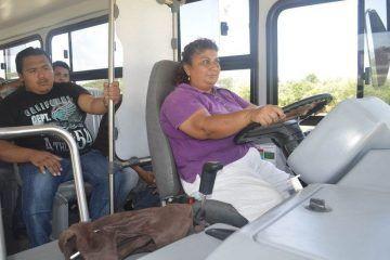 Inicia capacitación para operadores de autobuses