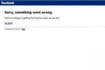 Facebook presentó fallas en todo el mundo