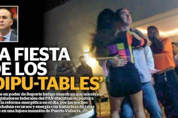La fiesta de los 'dipu-tables'