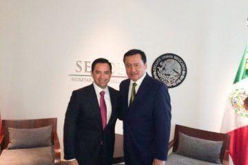 Sostiene José Luis Toledo encuentro con Osorio Chong