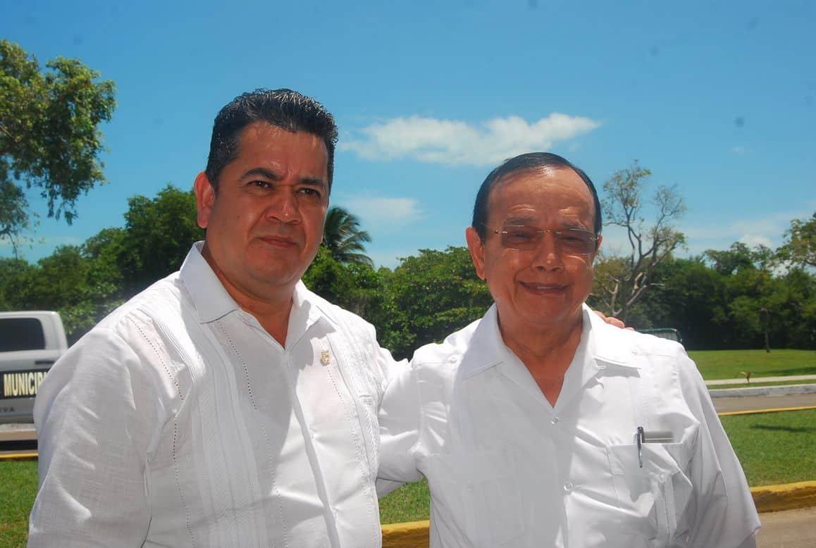 Jorge López Negrete Procurador Agrario en el Estado y Cástulo Ramírez García de la Secretaría de Desarrollo Agrario, Territorial y Urbano (Sedatu).