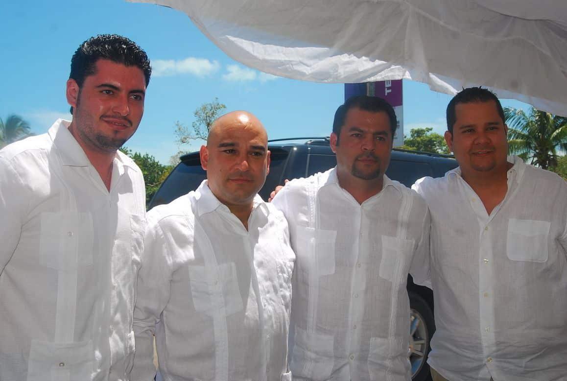 Fabián Castillo, Heriberto Millar López; Alonso Ventre y Alejandro Noya.