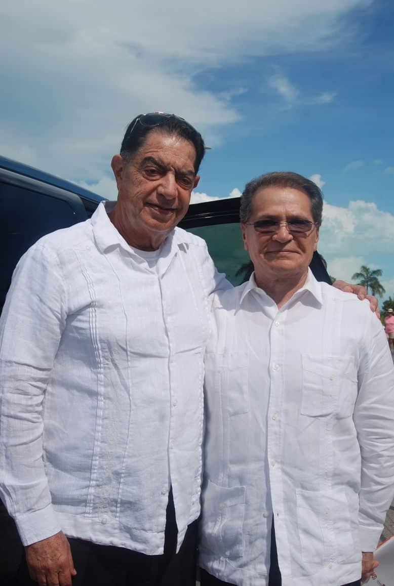 Isaac Hamui Abadi y Mario Rendón Monforte destacados empresarios.