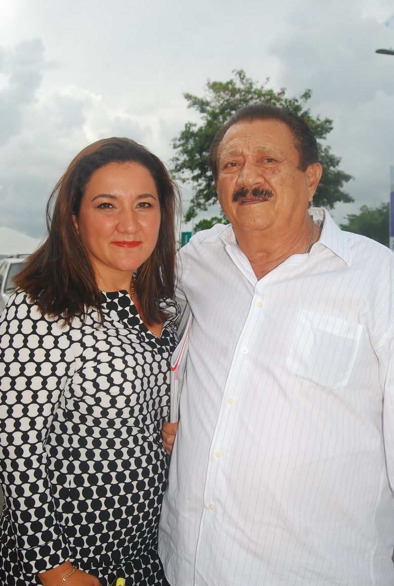 Georgina Marzuca y Jorge Marzuca.