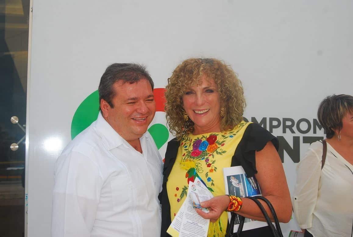 Andrés Ruiz Morcillo y Luz María Beristaín