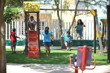 Reconocen padres de familia trabajo de Mauricio Góngora por parques y deportivos para sus hijos