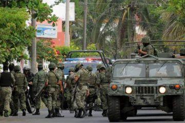 Aplica el Ejercito Mexicano intensos operativos en la parte sur del estado