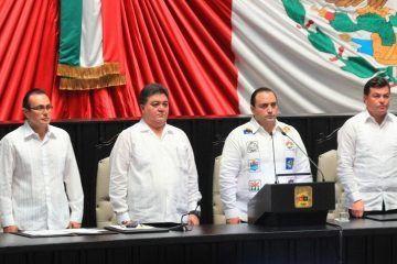 Celebran 40 aniversario de Quintana Roo como estado libre y soberano