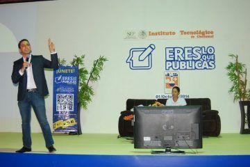 """Dictan Conferencia Magistral """"Eres Lo Que Publicas"""" En ITCH"""