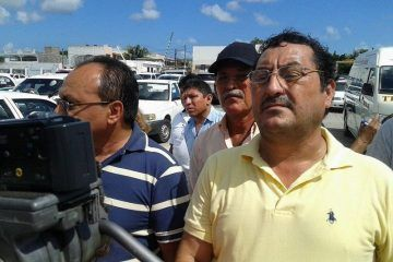 Amagan con impugnar convocatoria Taxistas de Cancún