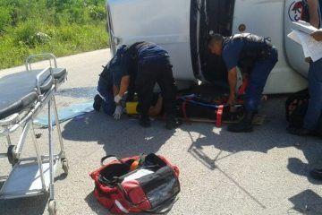 Muere reconocido galeno en accidente vehicular en tramo Buenavista-Bacalar