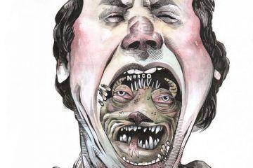 OMAR: Con el moustro adentro #caricatura