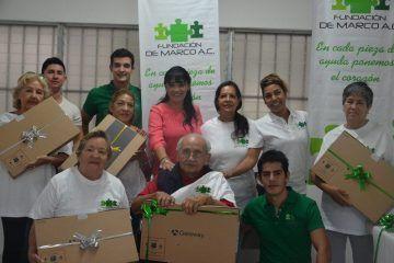 DIF Solidaridad recibe donación de computadoras