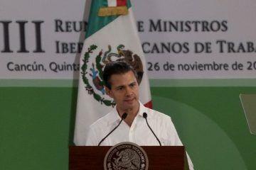 Trabajar para crear más empleos: Peña Nieto