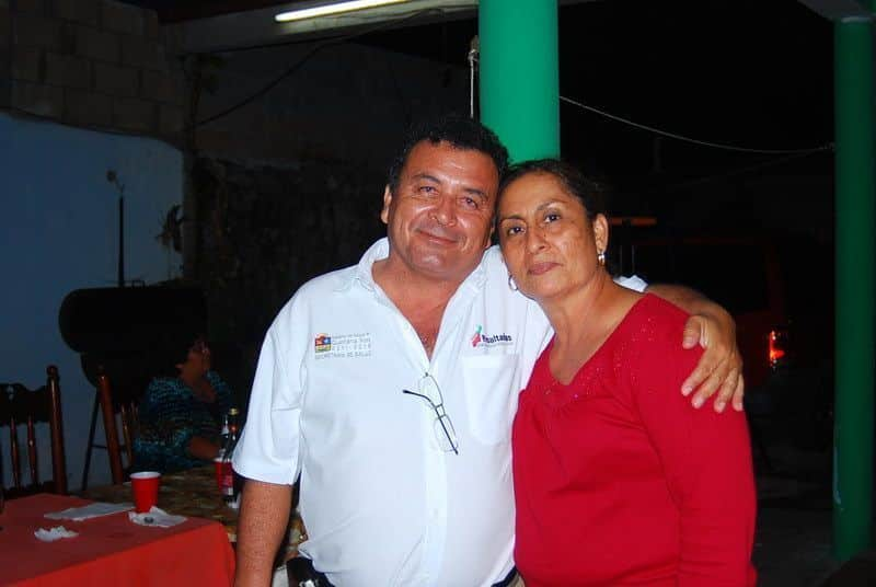 Iván Blanco Fernández y su distinguida esposa María Félix Marín de Blanco.