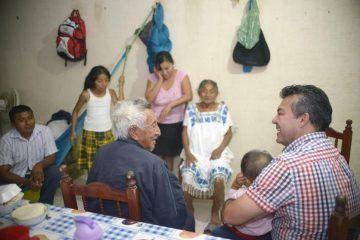 Mauricio Góngora da soluciones inmediatas a las necesidades de la ciudadanía