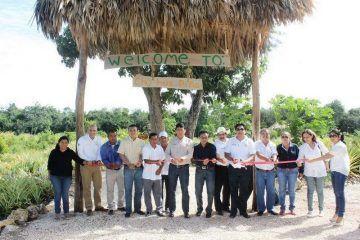 Inauguran parador eco-turístico en Bacalar