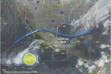 Clima Fresco Y Lluvias Dispersas En El Estado