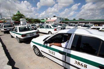 Cancún cerrará este año con aumento a tarifas de taxi