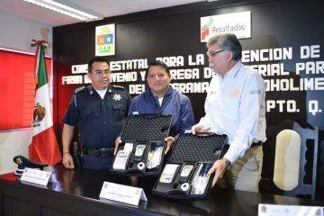 Entregan utensilios a municipio de FCP para establecer alcoholímetro