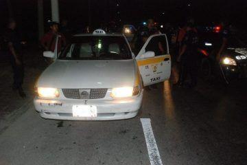"""Asaltan a taxistas y le """"bajan"""" 500 pesotes"""