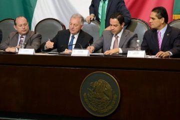 Estrechan lazos de colaboración Congreso de Quintana Roo y Cámara de Diputados