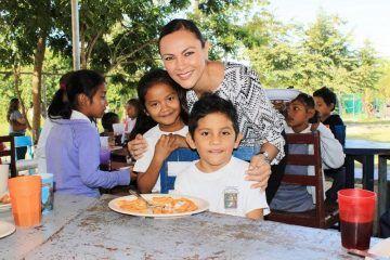 La buena alimentación mejorará el desempeño escolar: Arlet Mólgora