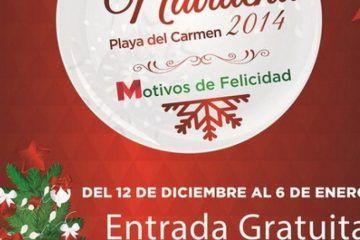 Mauricio Góngora prepara magna celebración con la Feria Navideña Playa del Carmen 2014