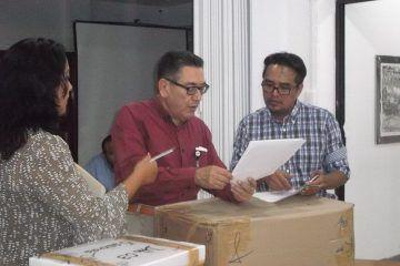 Entrega INE exámenes para aspirantes a supervisores y capacitadores electorales