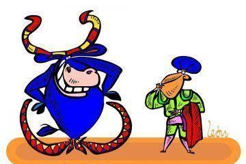 LEON: No a la corrida de toros #caricatura