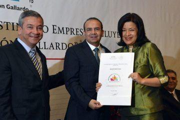 """Entrega STPS distintivo empresa incluyente """"Gilberto Rincón Gallardo"""""""