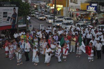 Taxistas de zona maya honran a la Virgen del Tepeyac