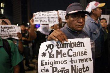 El cinismo, desaseo, manipulación y falta de transparencia en caso Ayotzinapa azuzan la renuncia de Peña Nieto
