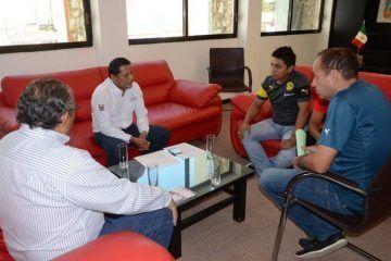 Apoya Gabriel Carballo, proyecto deportivo de futbol
