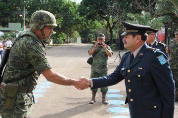 Cambian mando en el séptimo regimiento de Caballería Motorizada