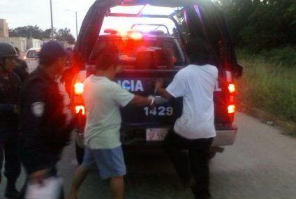 """Policía de OPB no se cansa de """"bolsear"""" a chetumaleños, ahora implementan  el operativo """"Barredora"""""""