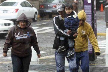 Lluvias, bajas temperaturas y vientos afectarán al País