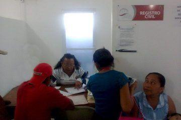 Más oficinas de Registro Civil en la zona rural del Municipio Bacalar