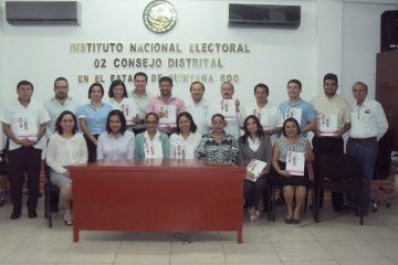 Magistrados y personal del TEQROO se capacitan para ser Observadores Electorales durante la jornada electoral de 2015