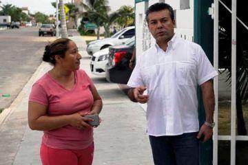 Cumple Mauricio Góngora compromiso a las necesidades de los solidarenses