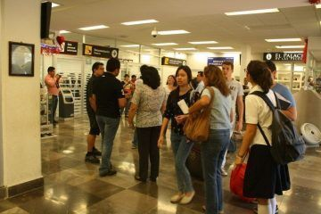 Retraso de vuelo de Interjet genera caos en la actividad comercial de Chetumal