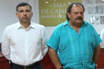 Da marcha atrás el alcalde Eduardo Espinosa, que siempre no renunció su director de deportes